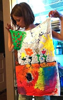 Self-Expression Capes - Things to Make and Do, Crafts and Activities for Kids - The Crafty Crow