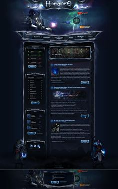 Hardcore Reloaded - Webdesign by King--Sora.deviantart.com on @deviantART