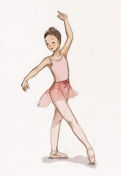 how to draw little girl dancing Ballet Art, Ballet Girls, Ballet Dancers, Little Girl Ballerina, Little Girl Dancing, Dancing Drawings, Ballet Drawings, Ballet Illustration, Ballerina Drawing