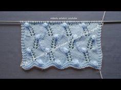 Tohumlu ajur örgü modeli bebek battaniyesi ve şal örneği - YouTube