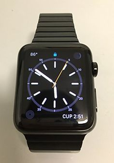 Buy Apple watch 42mm Space Black Stainless Steel Case with Space Black Link Bracelet USED for 649.99 USD | Reusell