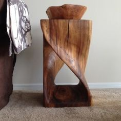 Design Inspiration: Wood Stools by Lauren Russell #homedecor #ecofriendly