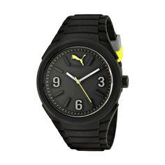 Reloj Puma Para Caballero Analogo Casual Negro