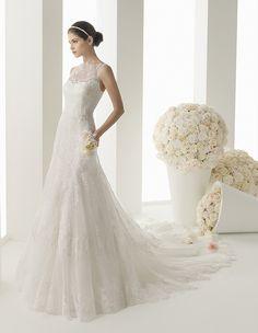 rosa clara wedding dresses 2014 bridal collection. #wedding #weddings