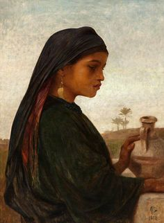 Frederick Goodall - At the Well