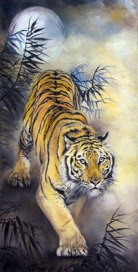 """""""A large cat staring at you with great intensity can& b.- """"A large cat staring at you with great intensity can& be a good thing."""" -Ti… """"A large cat staring at you with great intensity can& be a good thing."""" -Tiger& Curse by Colleen Houck - Tiger Sketch, Tiger Drawing, Tiger Artwork, Tiger Painting, Big Cats Art, Cat Art, Japanese Tiger Tattoo, Japanese Tiger Art, Tiger Tattoo Design"""