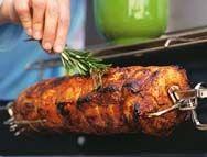 Les recettes d'Enora: Rôti de porc à la broche et patates