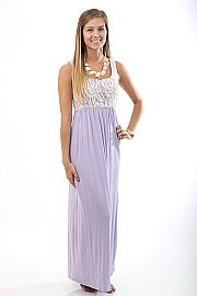 The LuLu Maxi, lilac $46 www.themintjulepboutique.com