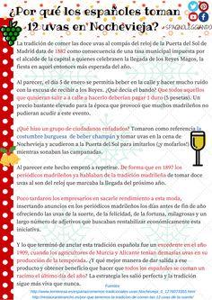 #navidad #uvas #nochevieja~#learnspanish #spagnoleggiando #tradicionesnavideñas #imparaspagnolo #ele