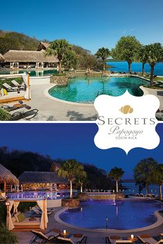 Day or night you'll find endless entertainment and romance at Secrets Papagayo.