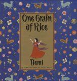 One Grain of Rice activity I LOVE this book! Have you ever done the 'double a penny a day for 30 days' activity? It's like that!