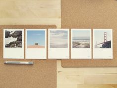 California Whispers Postcards series I by paperpostbijoux on Etsy