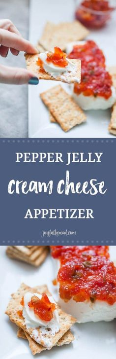 48 Ideas appetizers for party christmas pepper jelly Quick And Easy Appetizers, Easy Appetizer Recipes, Healthy Appetizers, Easy Snacks, Appetizers For Party, Snack Recipes, Party Recipes, Delicious Appetizers, Yummy Food