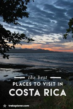 Need help deciding where to go in Costa Rica? Live out your pura vida with this Costa Rica destinations guide including the best places to visit in Costa Rica.