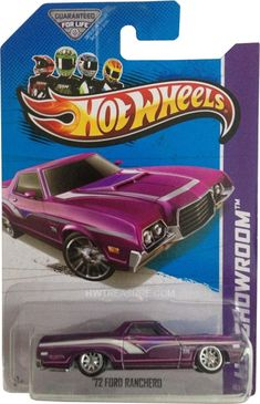 2013 Hot Wheels Super Treasure Hunt '73 Ford Ranchero (B case)