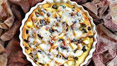 Focaccia rustica con patate rosse e gialle Ajavdè | Qui da Noi Blog Quiche, Breakfast, Blog, Morning Coffee, Quiches, Blogging