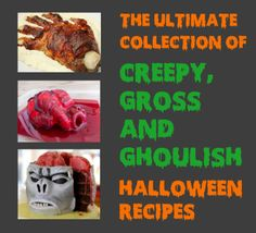 Really nice recipes. Every hour. • The Ultimate Collection Of Creepy, Gross And...