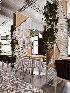 Cafe Shop Design, Coffee Shop Interior Design, Bar Design, Diy Interior, Deco Design, Office Interior Design, House Design, Design Ideas, Bakery Interior Design