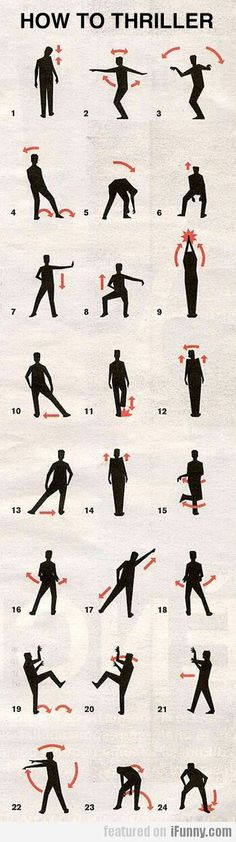 How to Thriller and dance