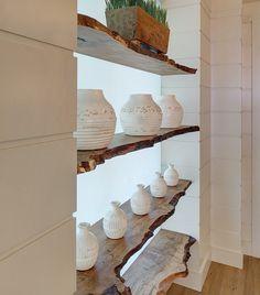 Hallway Bookcase Ideas. Coastal Hallway Bookcase. Bookcase decor. #Hallway #Bookcase W Design Interiors.