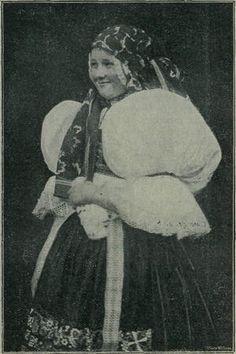Casopis cesky lid X. Děvčata z Boršova u Kyjova