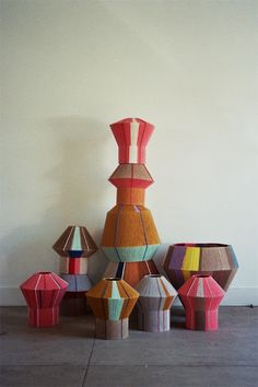 ANA KRAS Bonbon lamp : bonbons is a family of lanterns, each bonbon is handmade and one of a kind. - matter and shape buy, share, related products