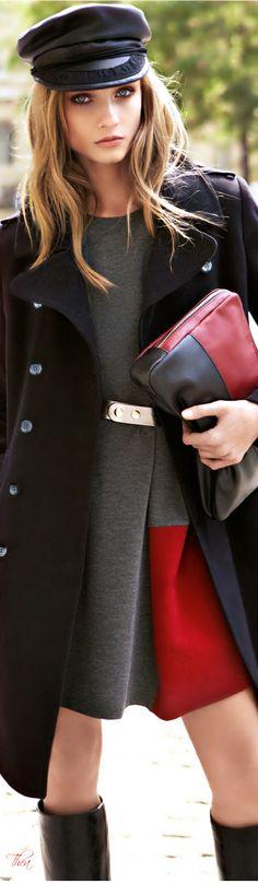 Brrr-ing on the cold! Bei diesem Look freuen wir uns auf den Herbst. #fall #fashion #ootd