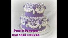 Punto Perdido Con Chantilly Decora con solo 3 Duyas Cake Pops, Cupcakes, Cake Videos, Birthday Cake, Cooking Recipes, Desserts, Youtube, Whipped Cream, Pie Cake
