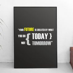 Your Future Poster Home wall decor Print Art by PrintingCraft