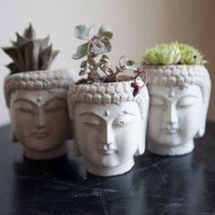 Buddha Head Planter <3