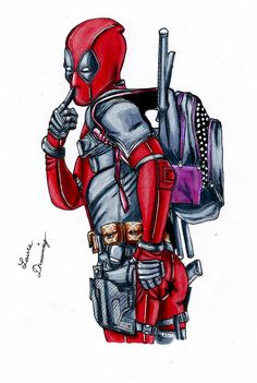 #Deadpool #Fan #Art. (Deadpool style manga) By: Laure-Drawing. (THE * 3 * STÅR * ÅWARD OF: AW YEAH, IT'S MAJOR ÅWESOMENESS!!!™) [THANK U 4 PINNING!!!<·><]<©>ÅÅÅ+(OB4E)