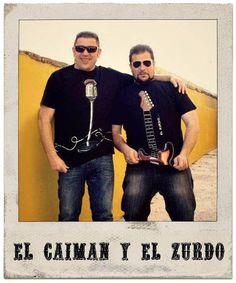 Camisetas arteneus personalizadas (El Caimán y El Zurdo)