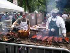 The Annual Big Apple Barbecue Block Party