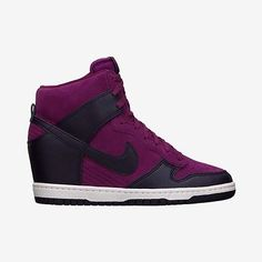 Womens Nike Dunk Sky Hi Purple Dynasty 528899-501 Size 5-11 NIB Athletic Sneaker[6]