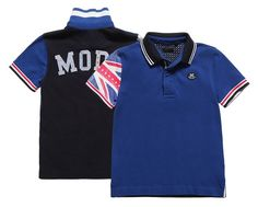 Boys Blue Cotton Polo T-Shirt 36.00 £ - IKKS