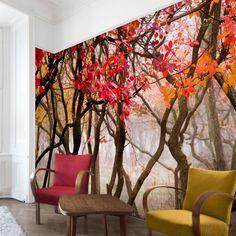 Bilderwelten Vliestapete Breit »Japan im Herbst« ab 49,95€. Material: extrem dimensionsstabile 110 g/qm Vliestapete bei OTTO