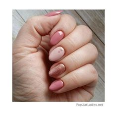 31 Easy Acrylic Nail Designs for Short Nails Hiyawigs Blog ❤ liked on Polyvore featuring beauty products, nail care and nail treatments
