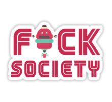 F Society Sticker
