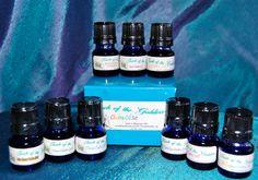 Chakra Oil Set by TouchoftheGoddess on Etsy, $45.00