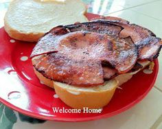 "Fried Bologna Sandwiches (""Baloney Samiches"")"