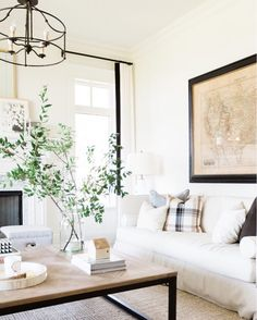 This versatile living room by @studiomcgee has to be one of my all time faves.  Love its neutral base and fun textures. And it was our room redo winner last week! We recreated it for less on the blog: http://wp.me/p7r27P-4pO or @liketoknow.it http://liketk.it/2pazE #liketkit #CopyCatChic