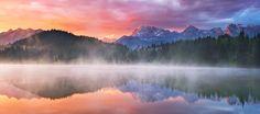 Colorful Dreaming - Karwendel von Michael Breitung