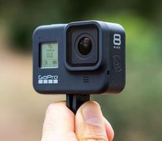 GoPro's latest creation is here with the Black. This GoPro packs insane features like its new HyperSmooth stabilization and slow-mo video. If you're someone who loves to film the action this new GoPro is for you. Cool Camping Gadgets, Cool Tech Gadgets, Photographer Gifts, Gifts For Photographers, Cool Technology, Technology Gadgets, Macbook Keyboard Cover, Newest Gopro, Tiny Horses