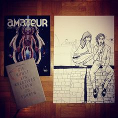 based artist uses Amateur Magazine 013 as a drawing inspiration Zurich, Sunday, Magazine, Drawings, Artist, Books, Inspiration, Instagram, Creative
