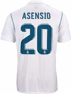 2017 18 adidas Asensio Real Madrid Home Jersey. Get the jersey from www. 16e44cbee