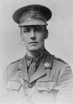 Capt. George Alexander Anstey, Devonshire Rgt 1st Bn. attd. 2nd Bn Cheshire Rgt. (1888|24.6.1915) Educated Wellington College & RMA Sandhurst. Commissioned 2nd Lieut 1908 joined 2nd Bn Devons, embarked for Malta 23.12.1908. Promoted Lieut. 7.6.1911. On 21.8.1914 he embarked for France with 1st Bn. Saw action Givrenchy & Festubert during Oct. Promoted to Captain 1915 & attd to 2nd Bn Cheshire Rgt. KIA 24.6.1915 - Dickebusch, Flanders. Buried at Ridge Wood Military Cemetery, grave ref: II…