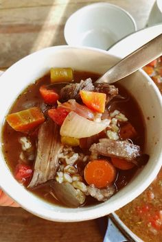 The Pioneer Woman's Perfect Pot Roast Turned into Soup is the best pot of deliciousness you can bring to a potluck, or serve for dinner, using leftover pot roast Leftover Soup Recipe, Leftover Pot Roast, Easy Pot Roast, Roast Beef Recipes, Pork Tenderloin Recipes, Rib Recipes, Soup Recipes, Pork Loin, Prime Rib Soup