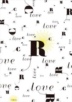 clover client : clover / media : ロゴ、ポスター、名刺 art direction : 加藤 雅尚 / design : 加藤 雅尚