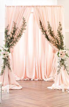 Pink Wedding Arch - My Website 2020 Coral Wedding Decorations, Wedding Backdrop Design, Quinceanera Decorations, Ceremony Decorations, Ramadan Decoration, Kansas City Wedding, Event Decor, Wedding Designs, Backdrops