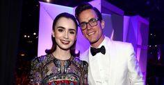 Matt Bomer Honors His Friend Lily Collins at Costume Designers Guild Awards! | Darren Criss, Glen Powell, Lily Collins, Matt Bomer, Troian Bellisario : Just Jared